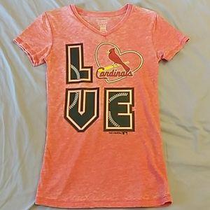 St. Louis Cardinals LOVE T-Shirt